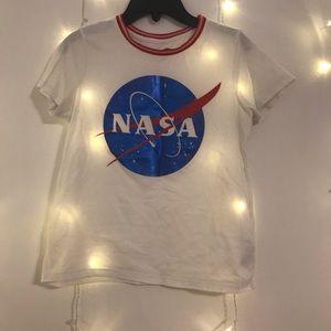Girls Old Navy NASA shirt